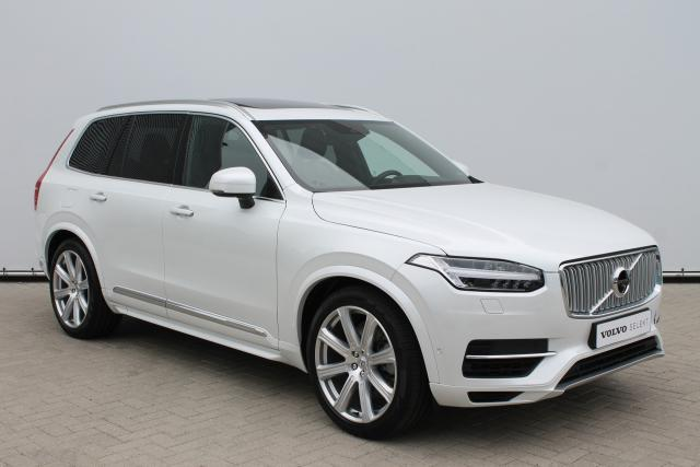 Volvo XC90 T8 Inscription - INCL BTW - Schuifdak - Luchtvering - Bowers & Wilkins - 360 Camera - Massage functie - Digitale TV - DAB - Head up display - Intellisafe Surround - Park Assist Pilot - Trekhaak Elektrisch wegkl. - 21'' LMV