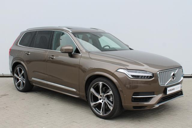 Volvo XC90 T8 Inscription - INCL BTW - 7% BIJTELLING - Luchtvering - Schuifdak - 360 Camera - Bowers & Wilkins - Intellisafe Surround - Head Up Display - Park Assist Pilot - Trekhaak elektrisch wegklapbaar - 22'' LMV