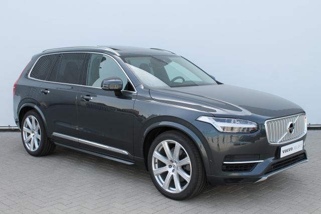 Volvo XC90 T8 Inscription - INCL BTW - Schuifdak - Luchtvering - Bowers & Wilkins - DAB - 360 Camera - Head up display - Verw. Stoelen v/a - Verw. Stuur - Park Assist Pilot - Massage Functie - Keyless - 21'' LMV