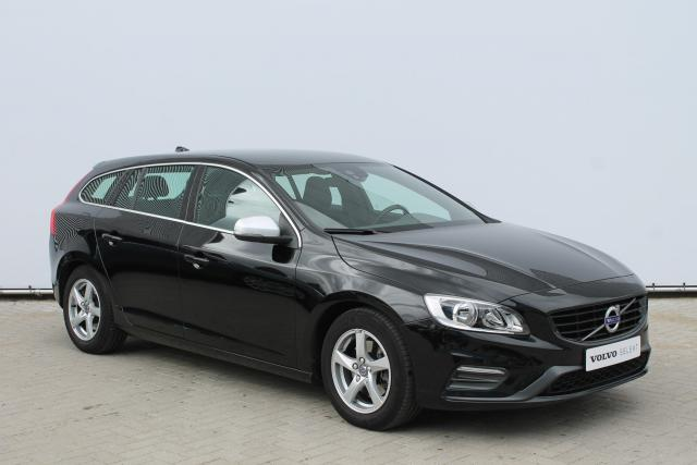 Volvo V60 D2 R-Design Business - Standkachel - Business Pack Connect (o.a. Navigatie) - Volvo On Call - Verw. Voorstoelen - Verw. Voorruit - 16'' LMV