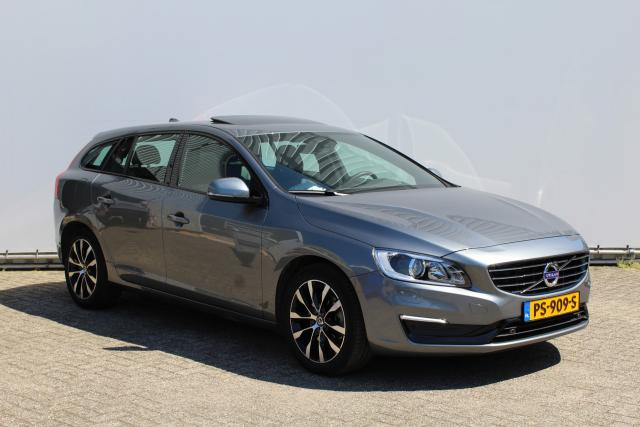 Volvo V60 D2 POLAR+ DYNAMIC - Luxury Line - Schuifdak - Parkeerverwarming - Volvo on Call - Parkeercamera - Verwarmbare voorruit - Verwarmbare voorstoelen - Sensus navigatie - Lifetime MapCare -