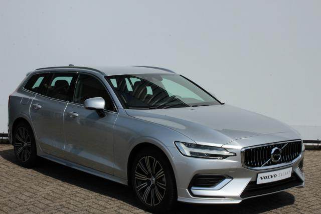 Volvo V60 D4 190pk INSCRIPTION - AUTOMAAT - Adaptive Cruise Control met Pilot Assist - Exterior Styling Kit - Parkeerverwarming - Volvo On Call - Parkeersensoren voor&achter - Parkeercamera achter - Elektr. achterklep - Lederen bekleding met stoelverwarmi