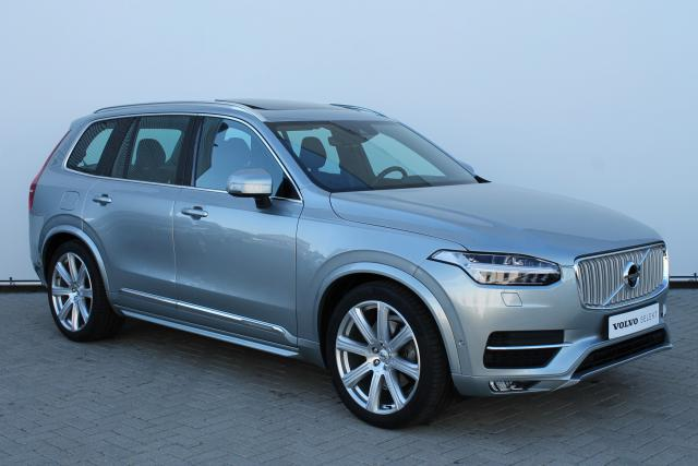 Volvo XC90 D5 AWD INSCRIPTION - Automaat - Luchtvering - Schuifdak - Bowers & Wilkins - DAB - 7- Pers - 360 Camera - Head up display - Massage Functie - Keyless - Verw. Stoelen v/a - Verw. Stuur - Volvo On Call - 21'' LMV