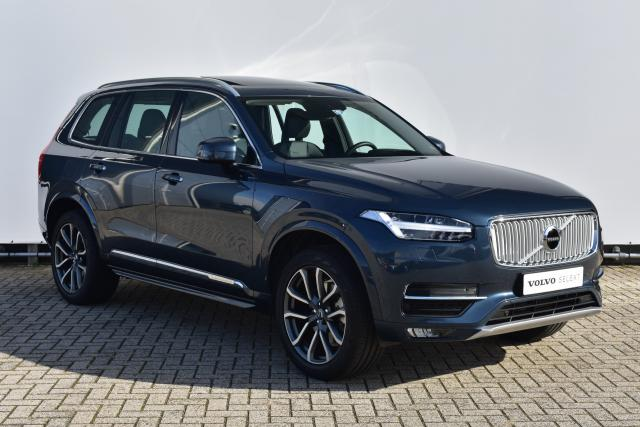 Volvo XC90 T5 (250PK) AWD INSCRIPTION - AUTOMAAT - PANORAMADAK - HEAD UP DISPLAY - STANDKACHEL - VOLVO ON CALL - PARKEERCAMERA - KEYLESS - NAPPA LEDER - ALARMKLASSE 3 - TREKHAAK - 20'' LMV