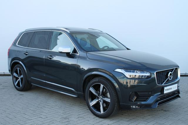 Volvo XC90 D5 AWD R-Design - Luchtvering - Bowers & Wilkins - DAB - Standkachel - 360 Camera - Head up display - Volvo On Call - Intellisafe Assist - Intellisafe Surround - Verw. Stoelen v/a - Verw. Stuur - Parkeersensoren v/a - 20'' LMV