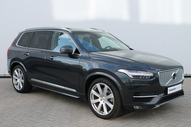 Volvo XC90 D5 AWD Inscription - Luchtvering - Schuifdak - Bowers & Wilkins - DAB - 360 Camera - Standkachel - Volvo On Call - Verw. Stoelen v/a - Verw. Stuur - Intellisafe Assist - Intellisafe Surround - 21'' LMV