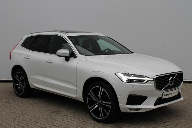 Volvo XC60 D5 AWD R-Design - Automaat - Schuifdak - Bowers & Wilkins - DAB -Standkachel - 360 Camera - Head Up Display - Volvo On Call - Intellisafe Surround - Intellisafe Assist - Verw. Stoelen v/a - Verw. Stuur - Park Assist Pilot - 21'' LMV