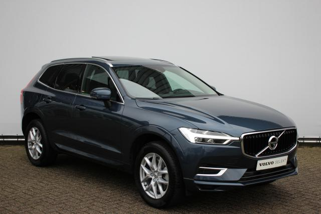 Volvo XC60 T8 Twin Engine AWD MOMENTUM - AUTOMAAT - Intellisafe Pro Line - Luchtvering - Bowers & Wilkins Audio - 360 graden camera - Leder - Keyless Drive - Full Led - City Safety