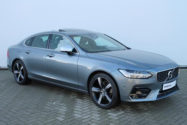 Volvo S90 T5 R-Design - Automaat - Schuifdak - Bowers & Wilkins - Standkachel - Volvo On Call - Verw. Stoelen v/a - Verw. Stuur - Intellisafe Assist - Intellisafe Surround - Parkeersensoren - 19'' LMV