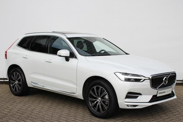 Volvo XC60 T5 250pk Inscription - Automaat - Navigatie - Panoramadak - Visual Park Assist - Volvo On Call - Head-up Display - Harman Kardon - Getint glas - Park Assist voor & achter - Keyless - Geïntegreerde zittingverhogers - Full Led