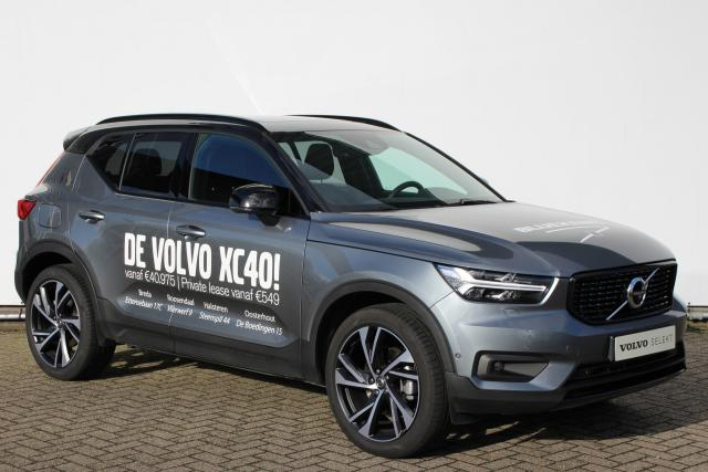 Volvo XC40 T5 250pk AWD R-Design Intro Edition - AUTOMAAT - Adaptive Cruise Control met Pilot Assist - Volvo On Call - BLIS - Standkachel - Keyless - 360° camera - Elektr. achterklep - Elektr. bedienbare en verwarmbare voorstoelen - Parkeersensoren voor &