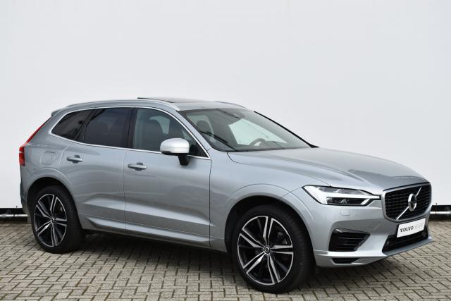 Volvo XC60 T8 (407pk) Twin Engine AWD R-Design - Glazen Panoramisch dak - 21'' Ixion LMV - 360 camera - Intellisafe Pro Line - Verw. Zittingen V/A & Stuurwiel - Standkachel - Head Up Display - Leder Dashboard