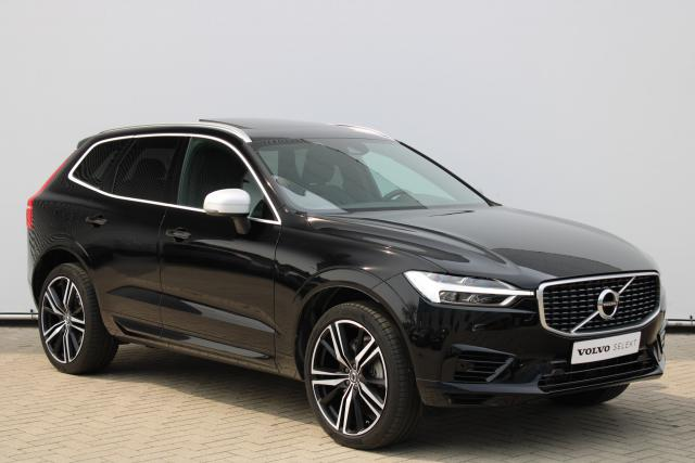 Volvo XC60 T8 AWD R-Design - Schuifdak - Standkachel - Intellisafe Surround - Intellisafe Assist - Achteruitrijcamera - Head up display - DAB - Getint Glas - Parkeersensoren v/a - Apple Carplay - 21'' LMV
