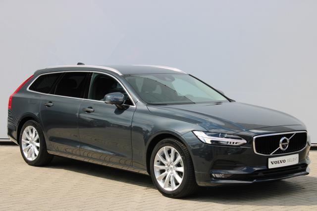 Volvo V90 T4 Momentum - Automaat - 360 Camera - Verw. Voorstoelen - Verw. Voorruit - Getint Glas - 4 Zone Climate Control - Intellisafe Surround - Intellisafe Assist - Getint Glas - Drive Mode Settings - Parkeersensoren v/a - Smartphone integratie - 18''