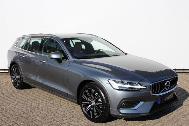 Volvo V60 D4 190pk INSCRIPTION - AUTOMAAT - Business Pack Connect - Intellisafe Pro Line - Noodreservewiel - Automatisch dimmende spiegels - Leder - Metallic lak - 18'' LMV