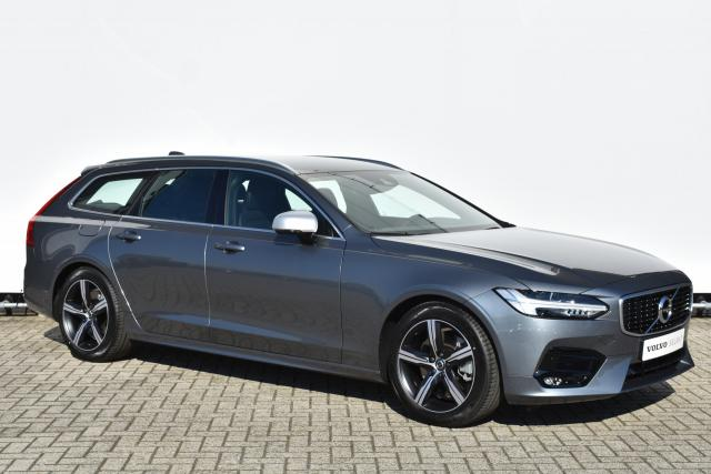 Volvo V90 T4 (190PK) Business Sport - AUTOMAAT - Adaptive Cruise Control met Pilot Assist - parkeer verwarming - Volvo On Call - BLIS - Lederen bekleding - Achtvoudig elektrisch bedienbare en verwarmbare voorstoelen - LED - DAB - CD-speler - Keyless