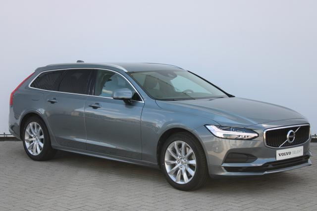Volvo V90 T4 Momentum - Intellisafe Assist - Intellisafe Surround - Verw. Voorstoelen - Verw. Stuur - Verw. Voorruit - Achteruitrijcamera - Parkeersensoren v/a - Geintegreerde kinderzitjes - Getint Glas - Drive Mode Settings - Telefoon Integratie - Keyles