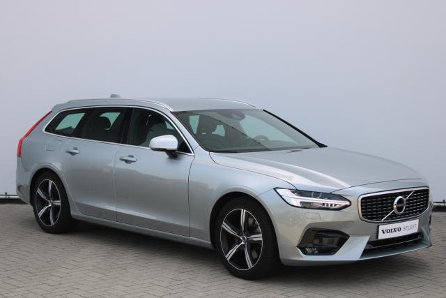 Volvo V90 T4 R-Design - Automaat - Standkachel - Intellisafe Assist - Intellisafe Surround - Volvo On Call - Verw. Stoelen v/a - Verw. Stuur - Parkeersensoren v/a - Keyless - Apple Carplay - 18'' LMV