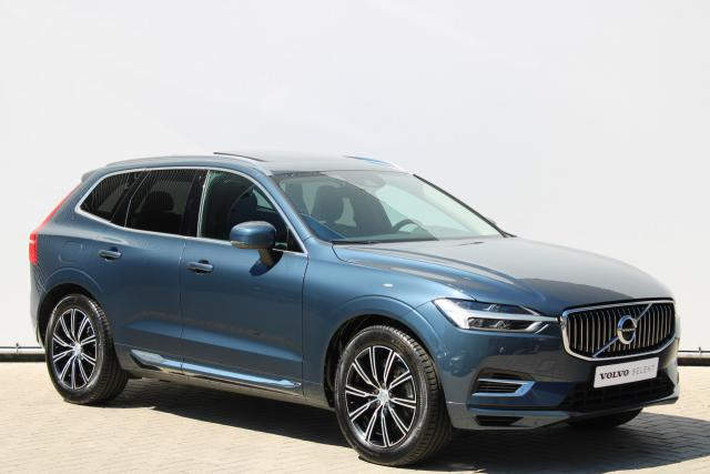Volvo XC60 T8 AWD Inscription - Luchtvering - Schuifdak - Standkachel - Keyless - Intellisafe Assist - Intellisafe Surround - Verw. Stoelen v/a - Verw. Stuur - Trekhaak elektrisch wegklapbaar - 19'' LMV *