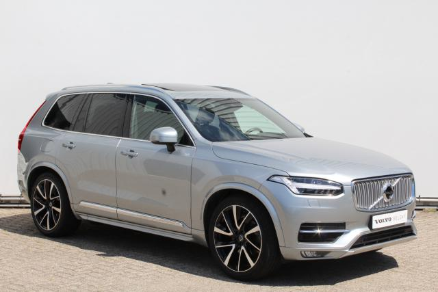 Volvo XC90 D5 AWD Inscription - Panorama/Schuifdak - Luchtvering - Standkachel - Head-up display - 360 graden camera - Elektrisch verstelbare voorstoelen - 3de zitrij - DAB+ - Volvo on Call - Pilot Assist - 21'' Lichtmetalen velgen