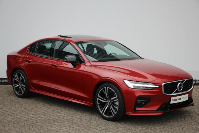 Volvo S60 T5 253pk INTRO EDITION R-DESIGN - AUTOMAAT - Adaptive Cruise Control met Pilot Assist - Volvo On Call - Standkachel - Head-up Display - Glazen panoramisch schuif-/kanteldak - Stoelverwarming voor & achter - Verwarmbaar stuurwiel - Schakelpaddles