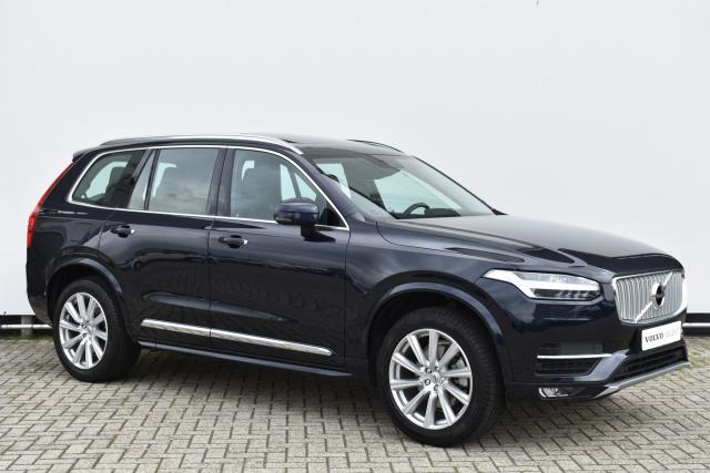 Volvo XC90 T5 (251pk) AWD Inscription - Schuifdak - Standkachel - Intellisafe Assist - Intellisafe Surround - Head up display - Massage Functie - Alarm Klasse 3 - DAB - Verw. Stoelen v/a - Verw. Stuur - Achteruitrijcamera - Keyless - 20'' LMV