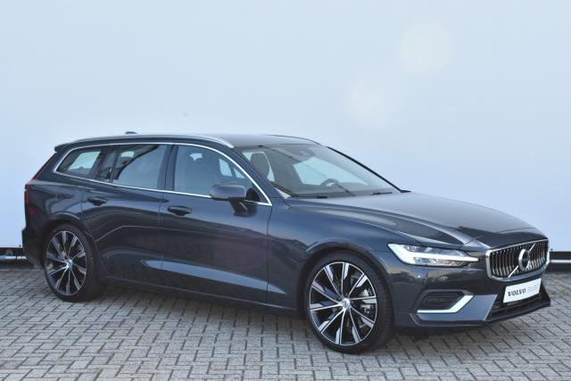 Volvo V60 T4 (210pk) Inscription - Automaat - Polestar Engineered Optimalisatie - Standkachel - Achteruitrijcamera - Intellisafe Assist - Intellisafe Surround - Verw. Stoelen v/a - Verw. Stuur - Parkeersensoren v/a - 20'' LMV