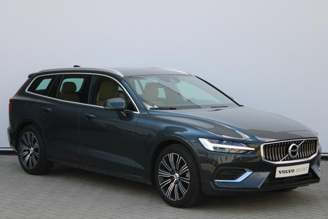 Volvo V60 D4 Inscription - Automaat - Harman Kardon - Intellisafe Assist - Intellisafe Surround - Standkachel - Verw. Stoelen v/a - Verw. Stuur - Smartphone integratie - 18'' LMV