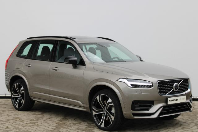 Volvo XC90 T8 AWD R-Design Intro Edition - Facelift - Luchtvering - Schuifdak - Bowers & Wilkins - DAB - Standkachel - 360 Camera - Head up display - Massage functie - Verw. Stoelen v/a - Verw. Stuur - Alarm Klasse 3 - Keyless - Intellisafe Assist - Intel