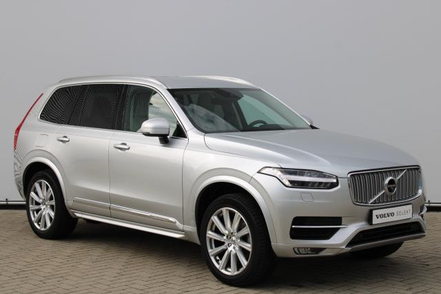 Volvo XC90 T5 AWD Inscription - Standkachel - Intellisafe Assist - Intellisafe Surround - 360 Camera - Getint Glas - Volvo On Call - Parkeersensoren v/a - Verw. Stoelen v/a - Verw. Stuur - 20'' LMV