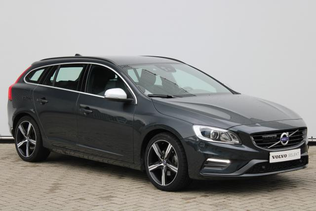Volvo V60 D4 R-Design - Automaat - Adaptive Cruise Control - BLIS - Standkachel - Volvo On Call - Xenon - Keyless - Parkeersensoren v/a - Verw. Stoelen v/a - Verw. Stuur - 18'' LMV