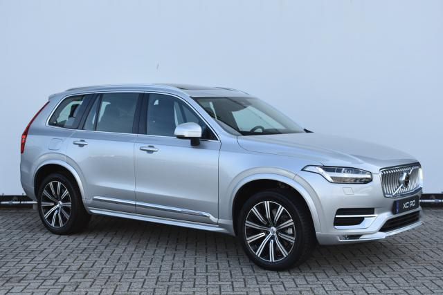 Volvo XC90 B5 Diesel (249pk) AWD Inscription Intro Edition (nieuwe auto!! nw.prijs €98.632,-) - Bowers & Wilkins - Adaptive Cruise Control - Schuif/Kantel Panoramadak - Head Up Display - 360 Camera - Geperforeerd Leder - DAB+ - Parkeersensoren V/A 20'' LM
