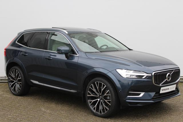 Volvo XC60 T8 Twin Engine AWD Inscription - Automaat - Navigatie - Luchtvering - Elektrisch bedienbare voorstoelen met geheugen & massagefunctie - 360° camera - Head up display - Pilot Assist - Bowers & Wilkins audio - BLIS - DAB - Inklapbare trekhaak - 2