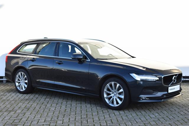Volvo V90 T5 (250pk) Momentum - Automaat - Standkachel - Parkeersensoren V/A - Keyless - Verw. Stoelen V/A & Stuurwiel - Adaptive Cruise Control - Volvo On Call - Drive Mode Settings - 18'' LMV