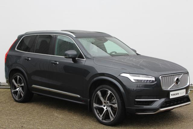 Volvo XC90 T8 Twin Engine AWD Inscription - Navigatie - Verwarmde voorstoelen - 360° camera - Elektrisch bedienbare voorstoelen met geheugen - BLIS - Massagefunctie voorstoelen - Bowers & Wilkins - Apple Carplay & Android auto - 22'' LMV