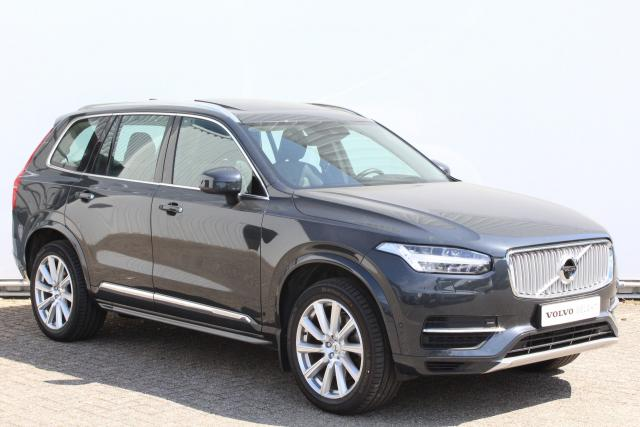 Volvo XC90 T8 Twin Engine AWD Inscription - INCL. BTW - Automaat - Navigatie - Elektrisch bedienbare voorstoelen - DAB+ - 360° camera - Head up display - BLIS - Pilot Assist - Verwarmde voorstoelen, stuur & achterbank - Inklapbare trekhaak - 20