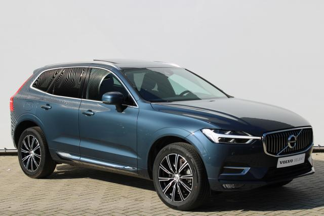 Volvo XC60 T5 Inscription - Schuifdak - Head up display - Achteruitrijcamera - Keyless - Apple Carplay - Parkeersensoren v/a - Getint Glas - Navigatie - Verwarmbare Voorstoelen - 19'' LMV