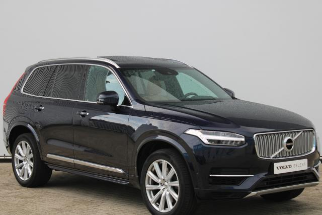 Volvo XC90 T8 Twin Engine AWD Inscription - Incl. BTW - Luchtvering - Navigatie - Panorama/schuifdak - Verwarmde voorstoelen, stuur & achterbank - BLIS - Apple Carplay & Android auto - Parkeercamera achter - Keyless entry - Pilot Assist - Volvo on Call - 20'' LMV