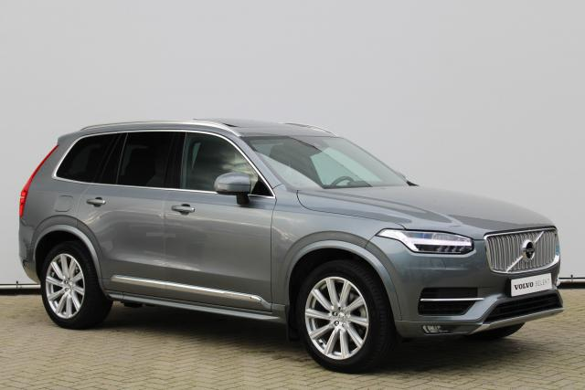 Volvo XC90 D5 AWD Inscription - Luchtvering - B&W - Panoramadak - IntelliSafe Pro - 360° camera - Head up display - audio - DAB - Massagestoelen voor - Standkachel -