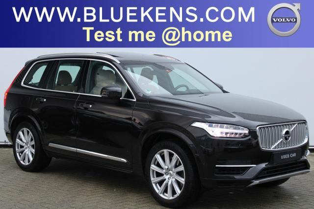 Volvo XC90 T8 AWD Recharge - Inscription - Luchtvering - IntelliSafe Assist - IntelliSafe Surround - Bowers & Wilkins audio - 360° Camera - Head up display - DAB - Keyless Entry - Verwarmde voorstoelen, stuur & achterbank - 20'' LMV INCL. BTW
