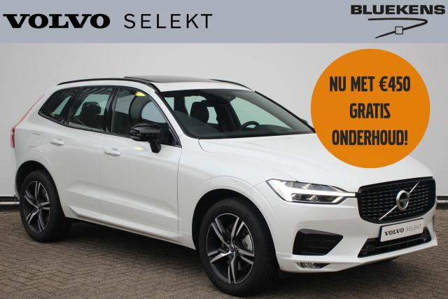 Volvo XC60 B5 250pk R-Design - Adaptieve cruise control - Panoramadak - 360º Camera - Parkeerverwarming - Head-up display - Verwarmbare stoelen voor & achter - Harman Kardon Audio - 4-Zone climate control - Draadloos tel