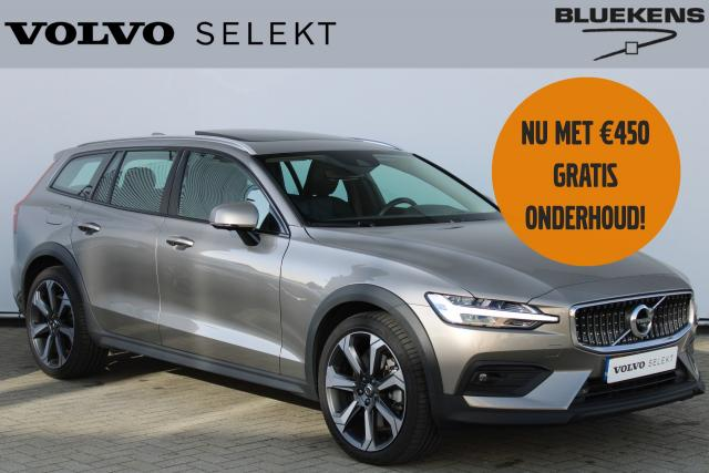 Volvo V60 Cross Country B5 AWD Pro - Panorama/schuifdak - IntelliSafe Assist - IntelliSafe Surround - Head up display - Harman Kardon audio - Elektr. bedienb. voorstoelen met geheugen & massagefunctie - 360° camera - Verwarmde