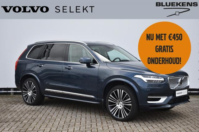 Volvo XC90 T8 (390pk) Recharge AWD Inscription - IntelliSafe Assist - IntelliSafe Surround - Head Up Display - 360° camera - Full-LED Active High Beam koplampen - Extra getint glas - Keyless entry - Trekhaak - 22'' LMV - Verwarmde voorsto