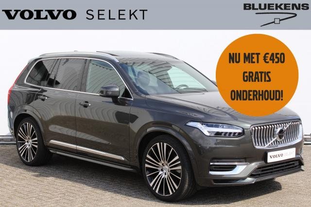 Volvo XC90 T8 Recharge AWD Inscription INCL. BTW - Luchtvering - Panorama/schuifdak - Bowers & Wilkins audio - IntelliSafe Surround - 360° camera - Head up display - voorstoelen met massagefunctie - DAB - Extra getint glas - 22'' LMV