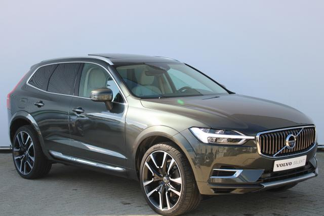Volvo XC60 T8 Recharge AWD Inscription - INCL. BTW - Luchtvering - IntelliSafe Surround - 360° camera - Head up display - Bowers & Wilkins audio - Elektr. bedienb. voorstoelen met geheugen & massagefunctie - 22'' LMV