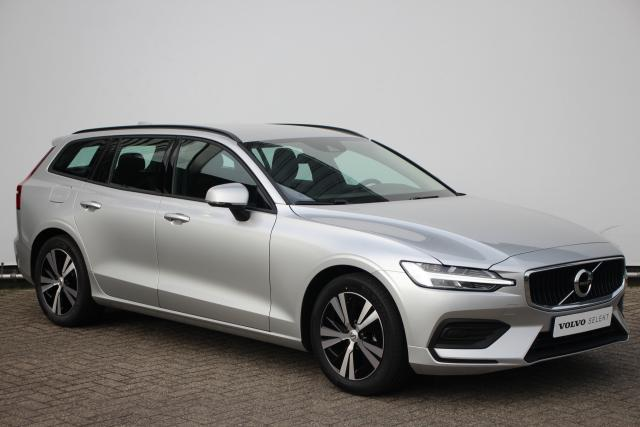 Volvo V60 B3 Momentum Advantage - Navigatie - Volvo On Call - DAB+ - Parkeersensoren voor & achter - Camera achter - Climate Control - Cruise Control - 48V Mild Hybrid systeem met KERS - LED verlichting - Iron Ore Aluminium