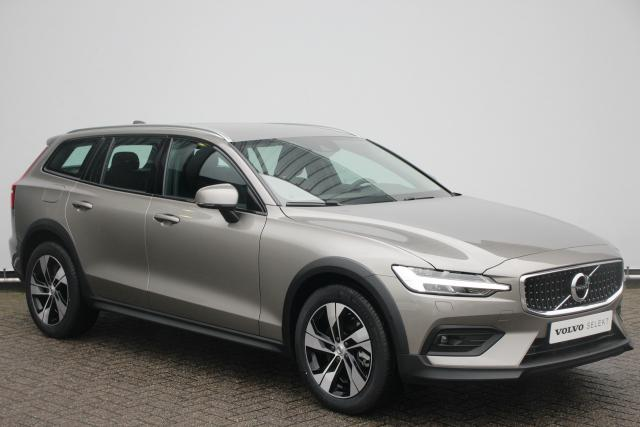 Volvo V60 Cross Country B5 AWD Pro - Adaptive Cruise Control - Pilot Assist - BLIS - Volvo On Call - Full LED - Leder - Parkeersensoren voor & achter - Parkeercamera achter - Verwarmbare voorruit - Draadloos opladen telefoon