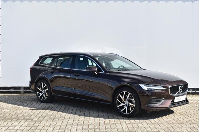 Volvo V60 T4 (190pk) Momentum Pro - Navigatie - Volvo On Call - Parkeersensoren voor & achter - Camera achter - Climate Control - Cruise Control - LED verlichting - 18 LMV