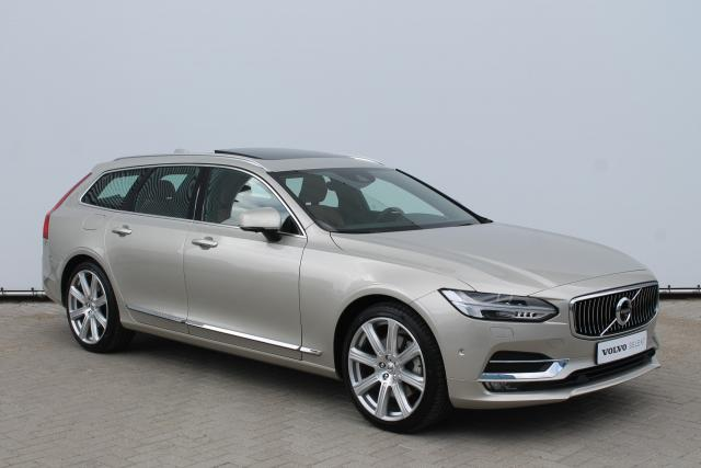 Volvo V90 T6 AWD 320PK INSCRIPTION - Schuifdak - Bowers & Wilkins - 360 Camera - Standkachel - Volvo On Call - Intellisafe Pro Line - 20''LMV